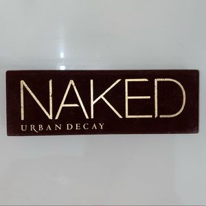 Barely Used Original Naked Palette (Discontinued)